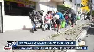 New caravan likely headed to border [Video]