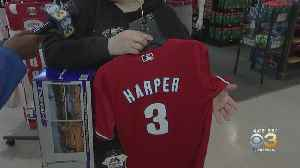 Faithful Phillies Fans Load Up On Gear Ahead Of Opening Day [Video]