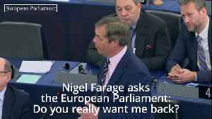Nigel Farage to EU leaders: Do you really want be back in this place? [Video]