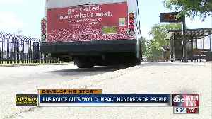 PSTA considers route cuts that could impact 1,000+ bus riders [Video]