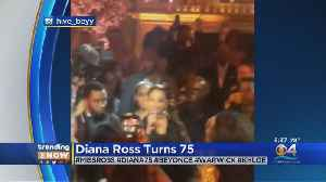 Trending: Diana Ross Turns 75 [Video]