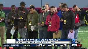 Terps hold pro day prior to NFL Draft [Video]