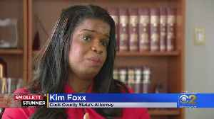 Kim Foxx Says Jussie Smollett Case Handled Just Like Other Low-Level Felonies [Video]