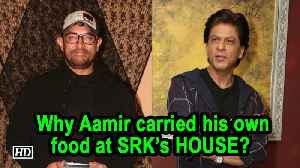 Why Aamir carried his own food at Shah Rukh's HOUSE? [Video]