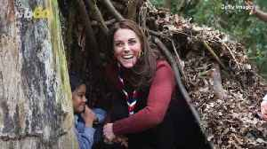 Kate Middleton Spends the Day with the Scouts [Video]