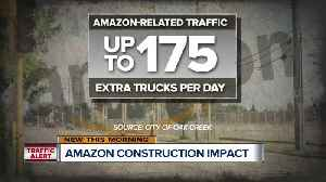 Major road construction coming ahead of Amazon's 2020 opening in Oak Creek [Video]