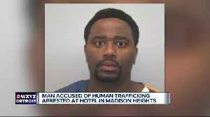 Police make human trafficking arrest in Madison Heights; officers say 2 women held against their will [Video]