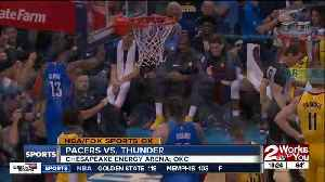 24-0 run in 3rd quarter fuels Oklahoma City Thunder in 107-99 defeat of Indiana Pacers [Video]