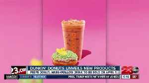 Dunkin' Donuts unveils peep donuts, marshmallow coffee for spring [Video]