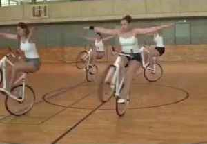 World Record Holders Take Part in 'Wheelie' Good Synchronized Spin [Video]