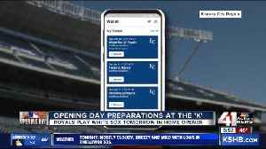 Royals go paperless: Fans will need the 'MLB Ballpark' app to access tickets and more [Video]