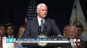VP Mike Pence speech at Ave Maria touches on volunteerism, pro-life stance [Video]