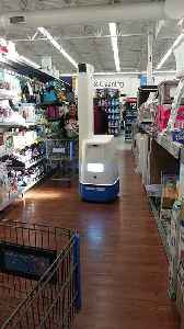 Big Box Store Robot Roams the Aisle [Video]