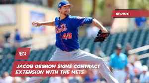 Jacob Degrom Signs 137 Million Dollar Deal With The Mets [Video]