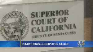 Computer Glitches Continue To Plague Santa Clara County Traffic Court [Video]