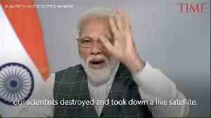 India's Narendra Modi Projects Military Might by Testing Anti-Satellite Missile [Video]