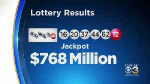 Winning Numbers From $768 Million Powerball Jackpot [Video]