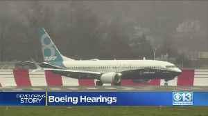 Boeing Hearings Underway [Video]