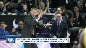 Oats leaves UB weeks after signing extension [Video]