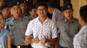 Jailed Reuters Reporters In Myanmar Bring Their Appeal To Court [Video]