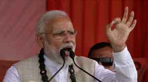 Modi Launches Election Campaign Promising 'New India' [Video]