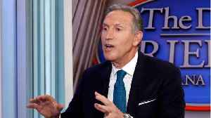 Howard Schultz Talks About Biden, Socialism, and 2020 [Video]