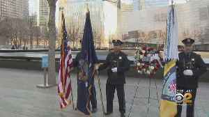 PAPD Badge Ceremony Held In Foundation Hall At 9/11 Memorial [Video]