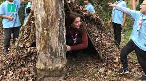 The Duchess of Cambridge Joins The Scouts, Hangs Out In A Den [Video]