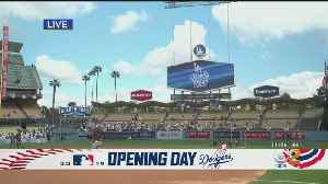 Fans All Over L.A. Ready For Opening Day At Dodger Stadium [Video]