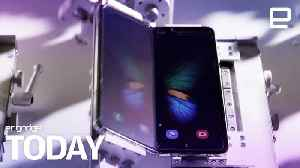 Samsung puts Galaxy Fold to the test | Engadget Today [Video]