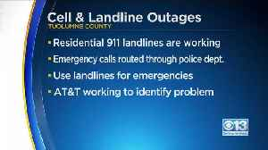 Sonora, Tuolumne County Experiencing Cell And Landline Outages [Video]