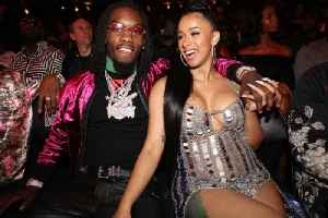 Offset Supports Cardi B After She Opened up About Her Past [Video]