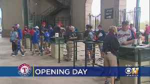 Fans Flock To Final Opening Day At Globe Life Park [Video]