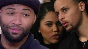 Steph Curry CONVINCED DeMarcus Cousins To Join Warriors By Using His WIFE Ayesha Curry! [Video]