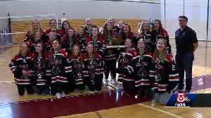 High 5: Wellesley High School girls ice hockey team [Video]