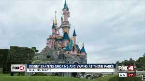 Disney banned smoking in their parks [Video]