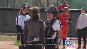 Dons Softball Drops Doubleheader Against Bowling Green [Video]