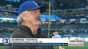 Former Brewer Gorman Thomas talks about opening day at Miller Park [Video]