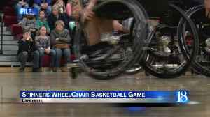 Lafayette Spinners Wheelchair Basketball Game [Video]