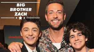 The Hollywood advice Zach Levi gave Asher Angel & Jack Dylan Grazer [Video]