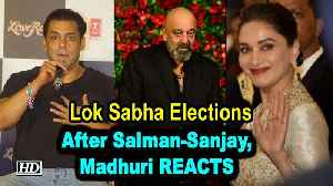 After Salman & Sanjay, Madhuri REACTS on contesting Lok Sabha Elections [Video]