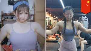 China's 'King Kong Barbie' likes to workout in a corset [Video]
