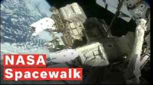 Watch NASA Astronauts On A Spacewalk Outside The ISS [Video]
