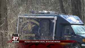 Human Remains discovered in wooded area in Eaton Rapids Twp., Eaton County [Video]