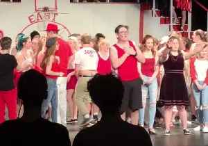 Student 'Gets His Head in the Game' With High School Musical Promposal [Video]