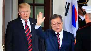 President Donald Trump Will Meet With South Korean President Moon Jae-in In April [Video]