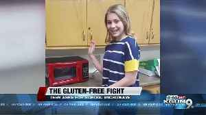 Teen takes fight for gluten-free lunch to Arizona Capitol [Video]