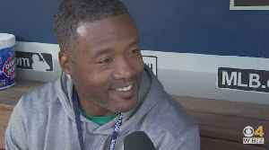 WBZ Sports Web Extra: Dan Roche With Lawyer Milloy Ahead Of Red Sox-Mariners Opener [Video]