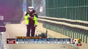 Man accused of killing toddler dies after suspected jail overdose [Video]