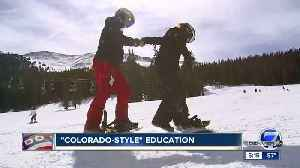 Above and beyond: Denver PE teacher takes 5th graders skiing and snowboarding for free [Video]
